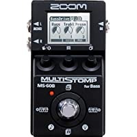 ZOOM/MS-60B-I MultiStomp Bass Pedal Black Limited