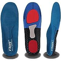 改良版 Valife 超軽量 薄型インソール 万能型 人間工学 衝撃吸収 TPR材質 運動 立ち仕事 スポーツ 疲労緩和サポート 大きめの靴のサイズ調整 サイズ調整可能 男性用 女性用