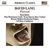 David Lang: Pierced (American Classics) 画像