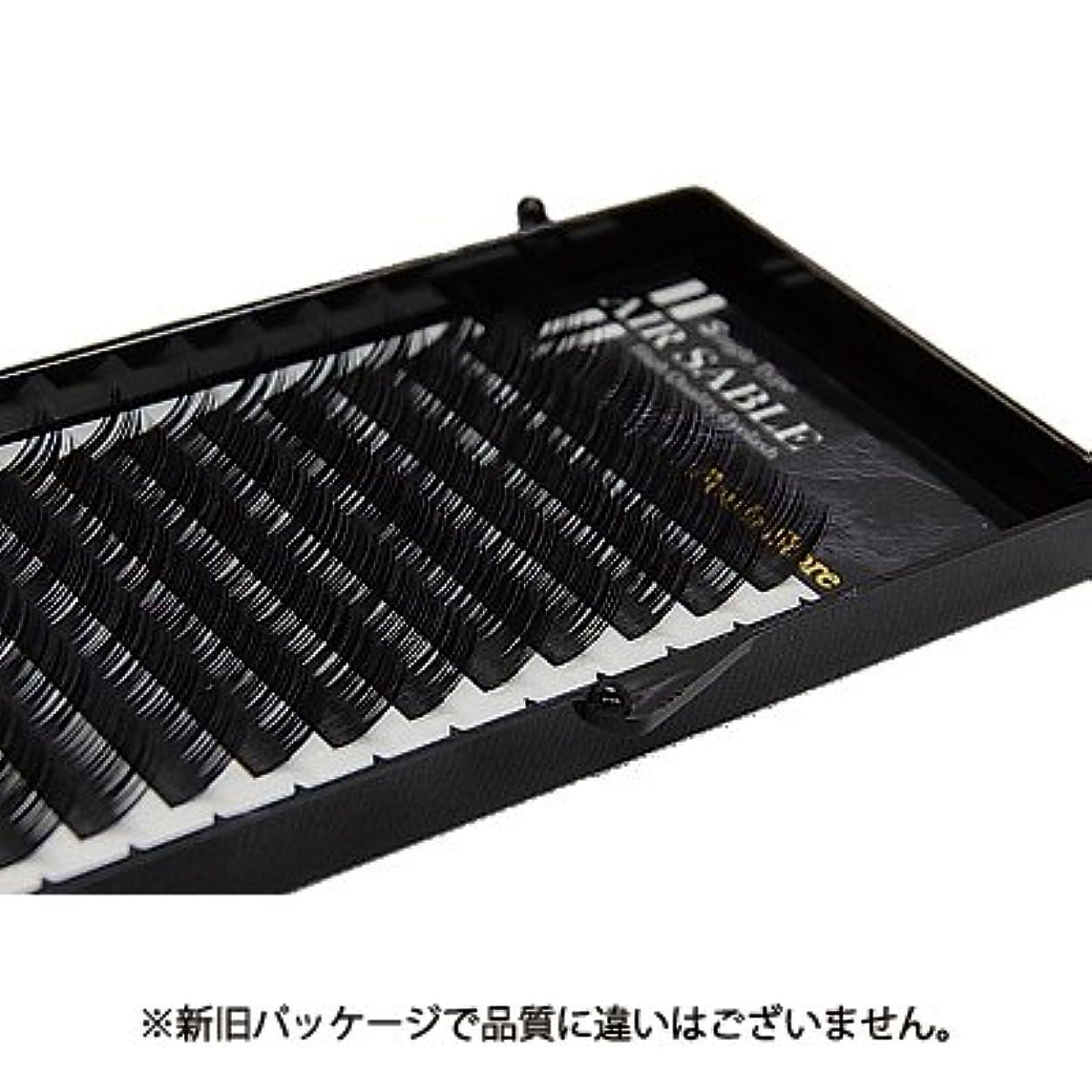 アルファベット奨学金サイレン【フーラ】エアーセーブル シート 12列 Cカール 12mm×0.15mm
