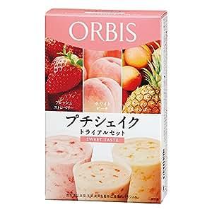 オルビス(ORBIS) プチシェイク トライアルセット スウィートテイスト(フレッシュストロベリー/ホワイトピーチ/パイン&マンゴー) 100g×3食分 ◎ダイエットドリンク・スムージー◎
