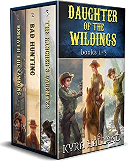 Daughter of the Wildings Books 1-3 by [Halland, Kyra]