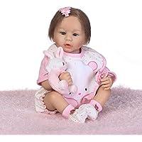 SanyDoll Rebornベビー人形ソフトSilicone 22インチ55 cm磁気Lovely Lifelike Cute Lovely Baby b0763l3cfw
