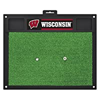 NCAA University of Wisconsin Badgers Golf Hitting Matゴルフ練習アクセサリー