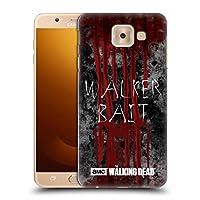 オフィシャルAMC The Walking Dead Walker Bait タイポグラフィ Samsung Galaxy J7 Max 専用ハードバックケース