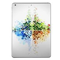 iPad mini mini2 mini3 共通 スキンシール retina ディスプレイ apple アップル アイパッド ミニ A1432 A1454 A1455 A1489 A1490 A1491 A1599 A1600 タブレット tablet シール ステッカー ケース 保護シール 背面 人気 単品 おしゃれ フラワー 花 フラワー カラフル 002636