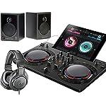 PIONEER DJスタートセット DDJ-WEGO4-K + XD3 + ATH-M20X(DJコントローラー + スピーカー + ヘッドホン) (ブラック)