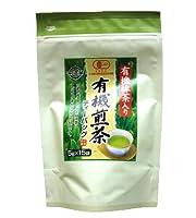 播磨園 有機 抹茶入り煎茶ティーバッグ 5g×15p