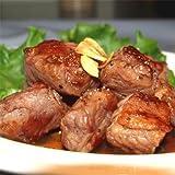 業務用サイズのお肉 穀物飼育 牛フィンガーカルビ サイコロステーキ用 5kg(1kg×5パック)