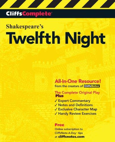 Download CliffsComplete Twelfth Night 0764585770