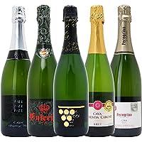 本格シャンパン製法の泡5本セット((W0A5C5SE))(750mlx5本ワインセット)