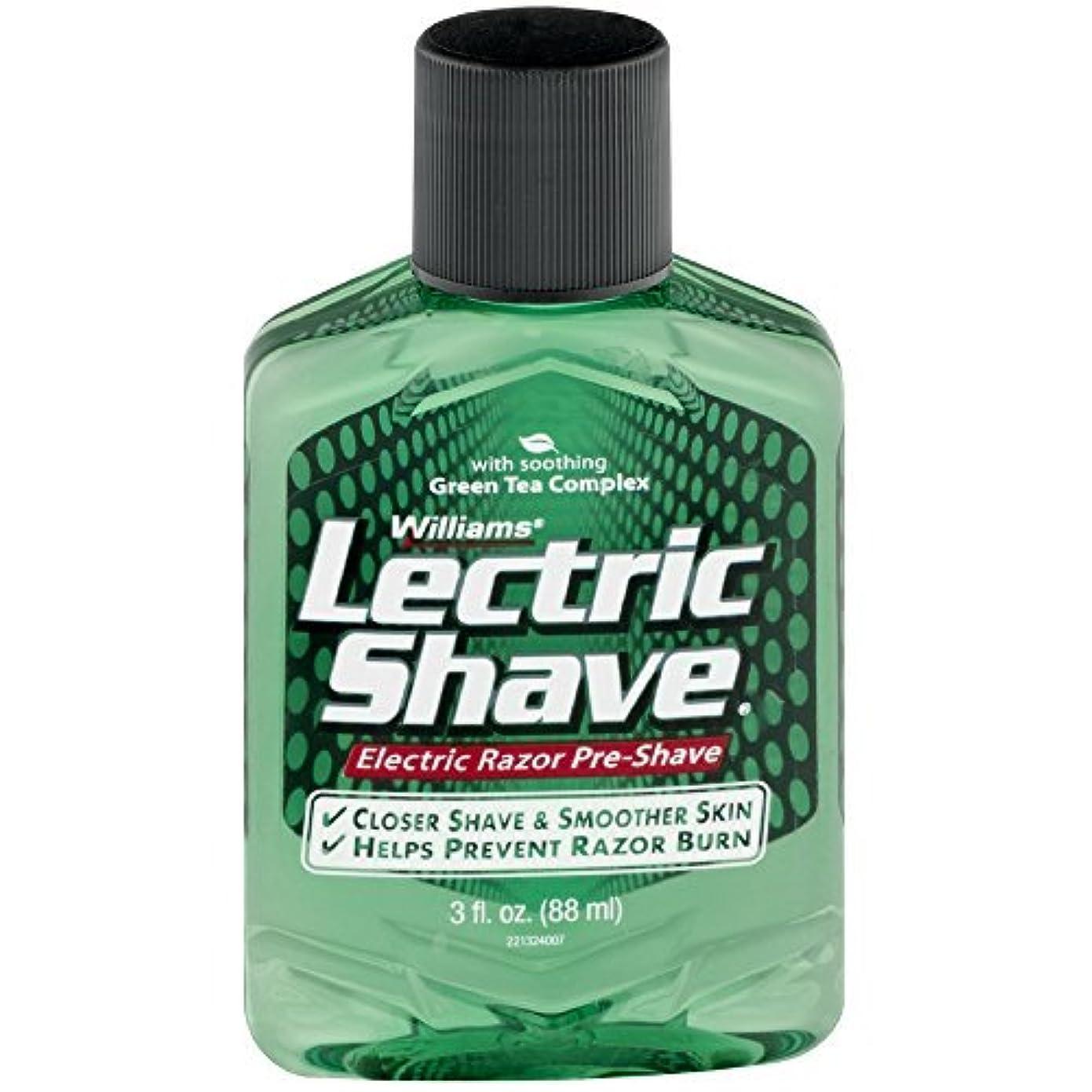 チラチラするアクチュエータ共同選択Lectric Shave Pre-Shave Original 3 oz (Pack of 3) [並行輸入品]