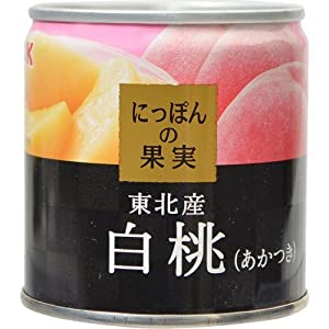 KK にっぽんの果実 白桃(あかつき) 195g