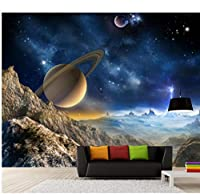 Wuyyii 3D部屋の壁紙カスタム写真不織壁画スター山の装飾絵画3D壁壁画壁紙用壁3 D