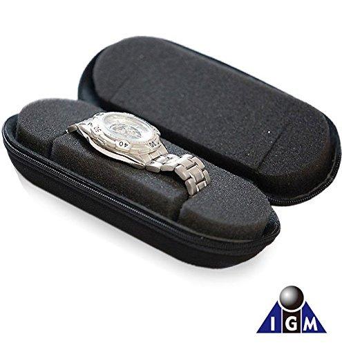 IGIMI(イギミ) 腕時計収納 携帯用 1本収納ウォッチケース 旅行・出張の持ち運びに便利 BI324197 正規輸入品