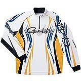 がまかつ(Gamakatsu) 2WAYプリントジップシャツ 長袖 GM3503 ホワイト L.