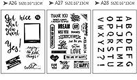(ランナー)RUNNER-JP 手帳 誕生日 DIY 印鑑 道具 クリアスタンプ 手作りスタンプ かわいい 透明 面白い (9)