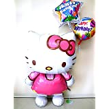 大きなキティちゃん 誕生日祝バルーン