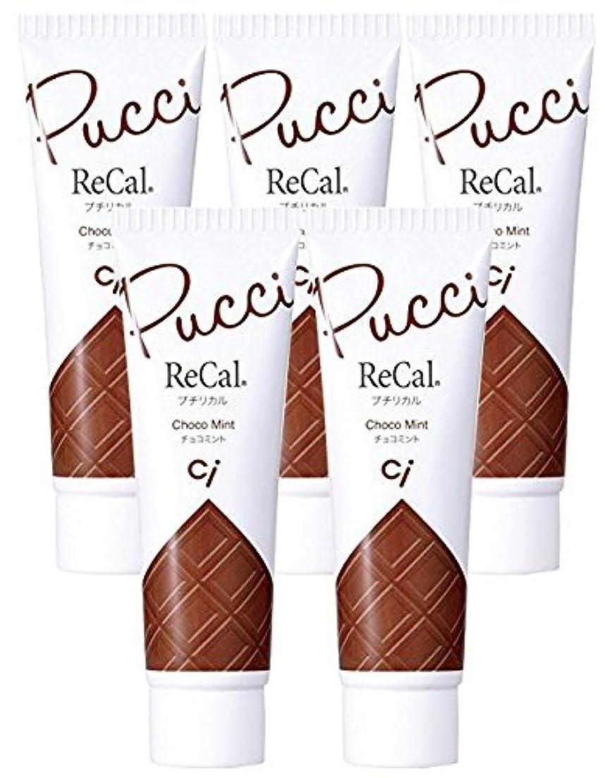 レールサスペンド誇張するプチリカル チョコミント 5本