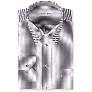 [アトリエ365]ワイシャツ 長袖 ワイシャツ イージーケア 形態安定 Yシャツ メンズ at103-b-5 日本 M (日本サイズM相当)