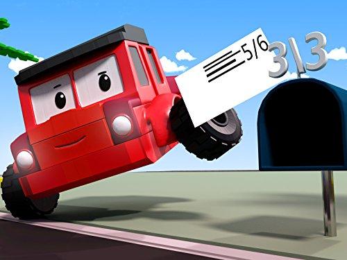 ジッピーと手紙の配達 - 数字の学習
