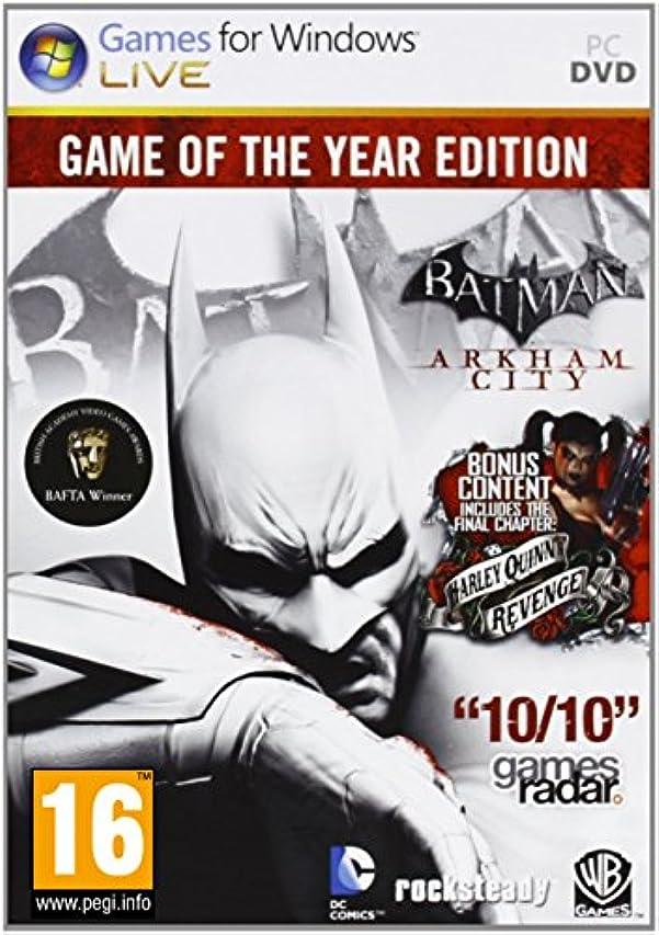 発表ウォーターフロント入植者Batman: Arkham City: Game of the Year Edition(輸入版)