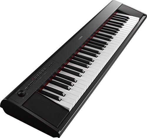 ヤマハ(YAMAHA) 電子キーボード piaggero ブラック NP-12B B01BD4PL3M 1枚目