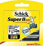 シック Schick スーパーIIプラスX 2枚刃 替刃 (16コ入)