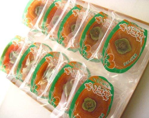 和歌山県産 あんぽ柿 1個(60~80g)入×10袋 600~800g 贈答用 化粧箱入 干し柿 10P11Apr15