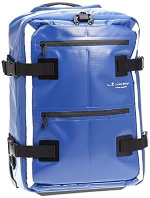 ヒデオワカマツ 2輪ターポリン 2wayソフトキャリーバッグ 機内持込みOK ブルー