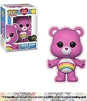 Cheer Bear ( Chase Edition ) : Funko POP 。アニメーションX Care Bears Vinyl Figure + 1American CartoonテーマTradingカードバンドル[ # 351/ 26698A ]