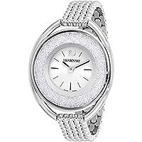 スワロフスキー レディース クリスタル腕時計 One Size シルバー/グレー
