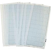 SMTHOME 10個/セット 青ブランクパンチカード 編み機用アクセサリー 標準編み機に適 10pcs