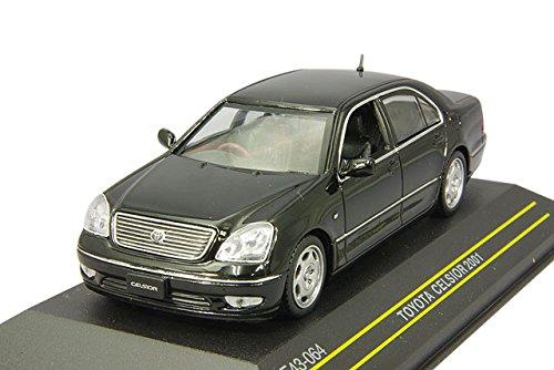 FIRST:43 1/43 トヨタ セルシオ 2001 ブラック 完成品