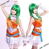 VOCALOID めぐっぽいど 風 GUMI コスプレ衣装 cc0222 (サイズオーダー品)