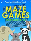 Maze Games For Kids Ages 8-12: Maze Activity Book, Maze Puzzles Book for Kids, Maze Puzzles, Maze Puzzles For Kids, Over 70 Maze Puzzles, 8.5