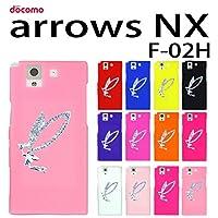 F-02H arrows NX 用 デコ シリコンケース (全12色) 妖精 ラメクリアピンク [ ARROWSNX アローズNX F―02H ケース カバー F-02H NX ]