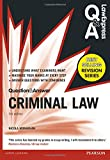 Cover of Law Express Question and Answer: Criminal Law (Q&a Revision
