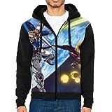 カジュアル Gundam 機動戦士ガンダム パーカー Men's Jacket Hoodie 長袖 春と秋 上着 おしゃ れスウェットシャツ Tシャツ キッス バンド プリント 通学 メンズ トップス ポケット