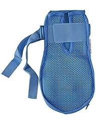 認知症手袋安全手袋病院用ハンド制限感染プロテクターミットフィンガーコントロールミット医療患者用高齢者の安全 (Color : 2pcs, Size : L)