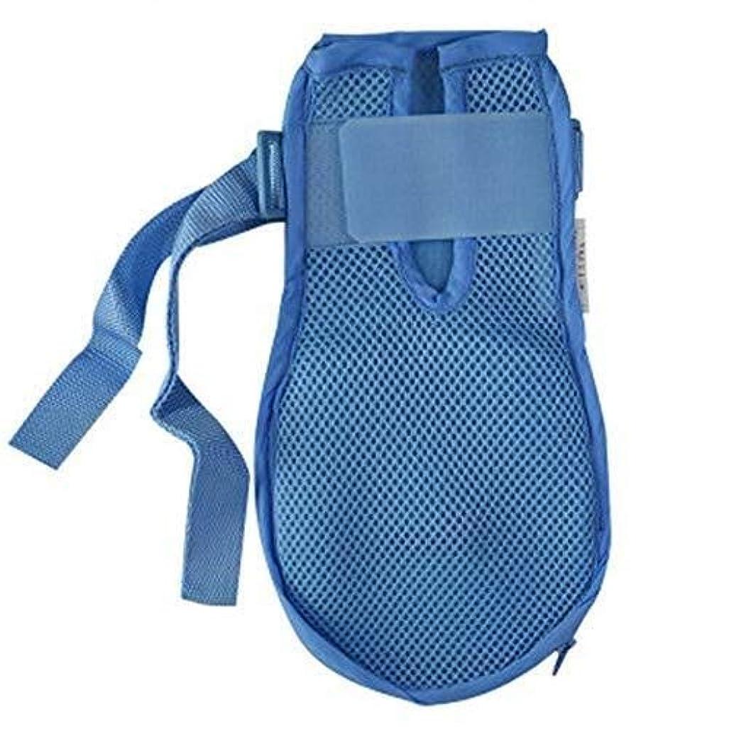 パース奪う受け入れた認知症手袋安全手袋病院用ハンド制限感染プロテクターミットフィンガーコントロールミット医療患者用高齢者の安全 (Color : 2pcs, Size : L)