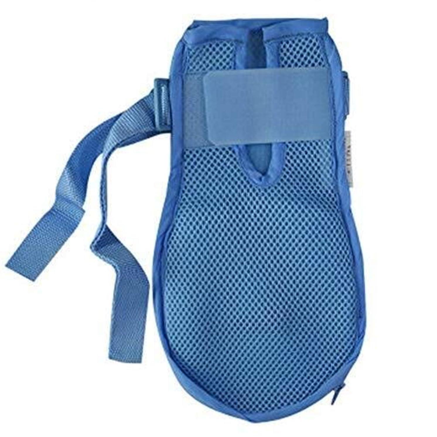 反対したなくなる洞察力のある認知症手袋安全手袋病院用ハンド制限感染プロテクターミットフィンガーコントロールミット医療患者用高齢者の安全 (Color : 2pcs, Size : L)