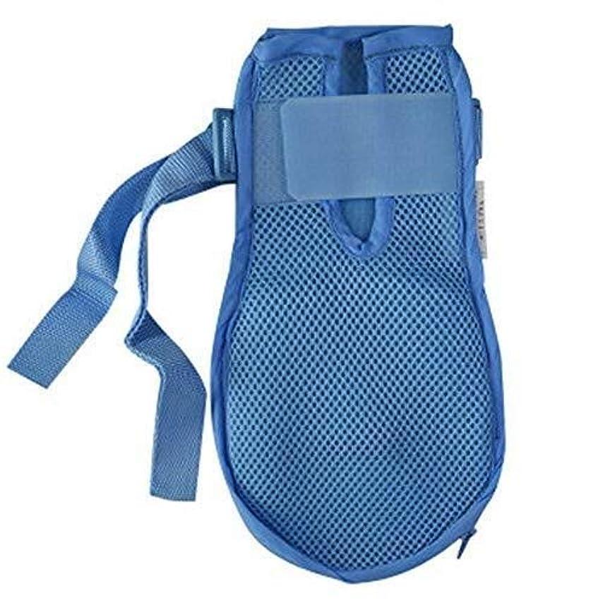 ハント感じるタフ認知症手袋安全手袋病院用ハンド制限感染プロテクターミットフィンガーコントロールミット医療患者用高齢者の安全 (Color : 2pcs, Size : L)