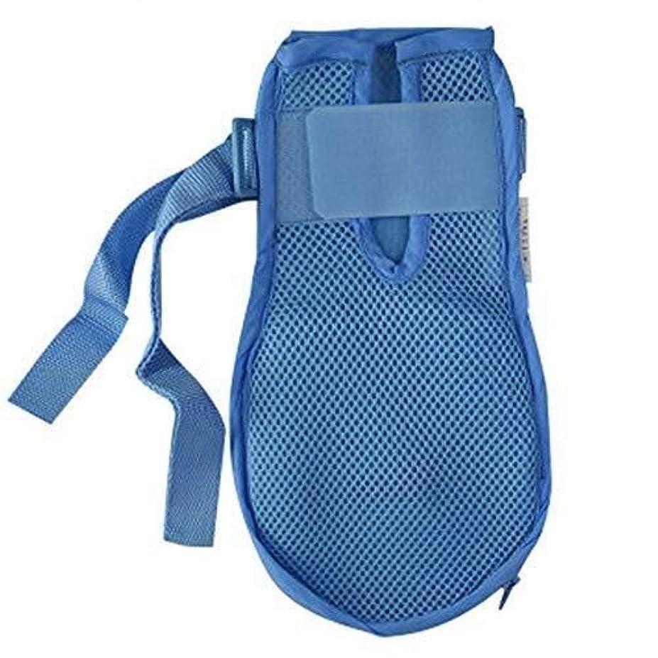 衰える冷酷な与える認知症手袋安全手袋病院用ハンド制限感染プロテクターミットフィンガーコントロールミット医療患者用高齢者の安全 (Color : 2pcs, Size : L)
