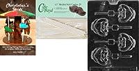 Cybrtrayd ' Cute Big Eared Bunny Lolly 'イースターチョコレート型254.5-inch Lollipop Sticks and Chocolatierのガイド