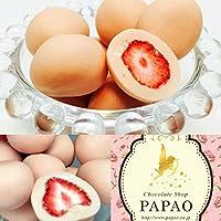 ショコラドフレーズ ピンク苺チョコ 100g メッセージカード付き☆パパオ<PAPAOチョコレート>