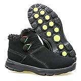 c50dde2d3b251d [MUMEOMU] スノーブーツ 綿靴 裏起毛 雪靴 カジュアル ハイカット ウインターブーツ アウトドア