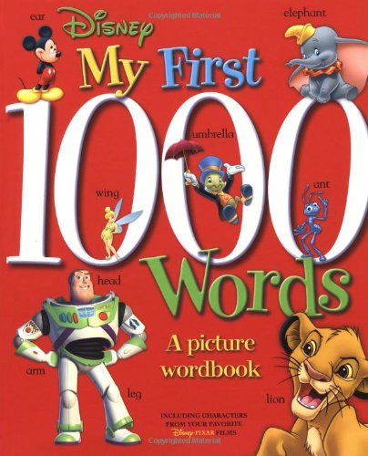 Disney: My First 1000 Words (Disney Learning)の詳細を見る