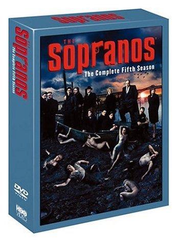 ザ・ソプラノズ 哀愁のマフィア (フィフス・シーズン) コレクターズ・ボックス [DVD]