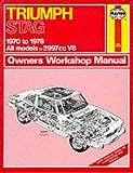 Triumph Stag Owner's Workshop Manual (Service & repair manuals)